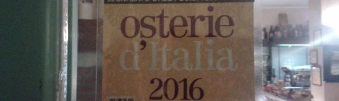 """OSTERIE D'ITALIA 2016″"