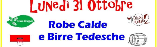 """""""ROBE CALDE E BIRRE TEDESCHE"""""""