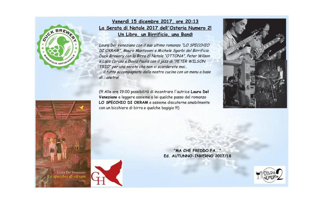 """""""SOTTO L'ALBERO… BIRRE, LIBRI & JAZZ!"""""""